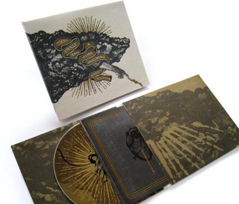 Rabbit Children CD design by Brian Danaher