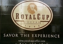 Royal Cup Coffee logo on truck